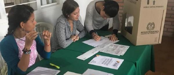 Consulado de Colombia en El Amparo dio apertura oficial a las elecciones en el exterior para Presidente y Vicepresidente de la República
